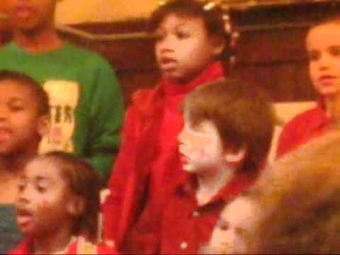 Harris Elementary School 1st, 2nd, 3rd grade christmas performance - December 3rd, 2010
