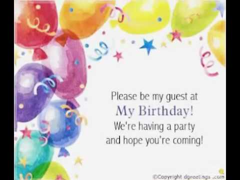 Birthday Invitation On Whatsapp Developed By Faa Creation Agra