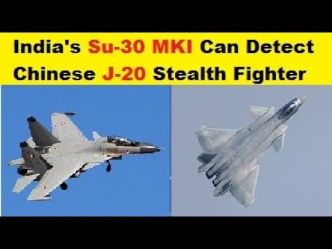 India's Su-30MKI Can Track and Detect Chinese Chengdu J-20 Stealth Fighters