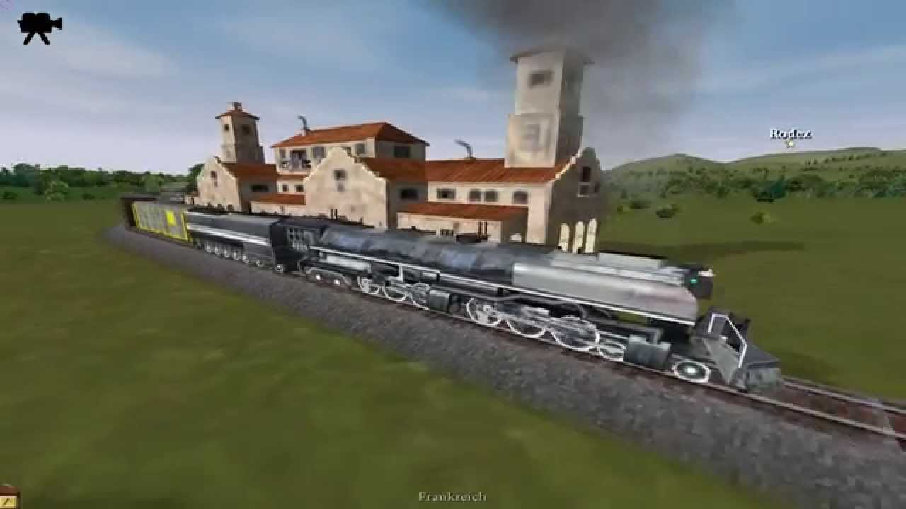 Challenger 4-6-6-4 Locomotive - Let´s Play Railroad Tycoon 3