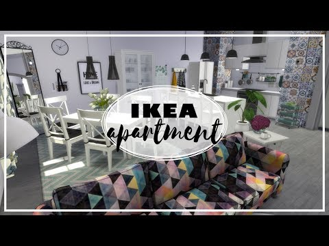 Apartament IKEA - The Sims 4 Speed Build: Apartamenty