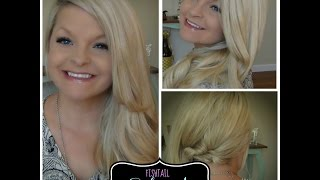 Fishtail Sideswept Hairstyle - Shay Mitchell Inspired Thumbnail