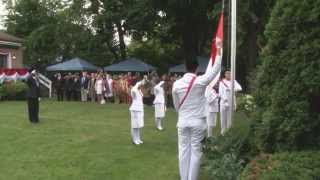KJRI Toronto: Upacara HUT RI ke-69 (17 Agustus 2014)