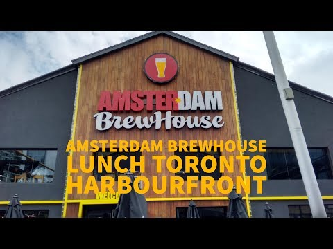 Amsterdam BrewHouse Lunch Toronto Harbourfront