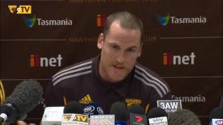 Jarryd Roughead Press Conference: 31 May 2016