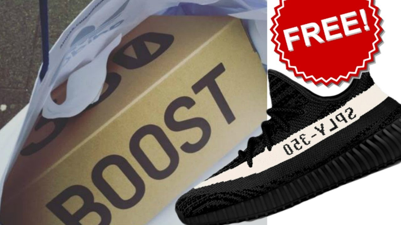 0f696b2d3 How to get free pair of YEEZYS  - YouTube