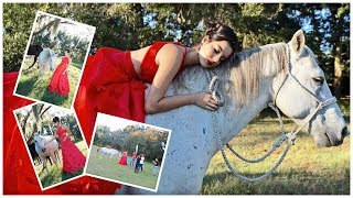 Modeling With Horses!   Behind The Scenes
