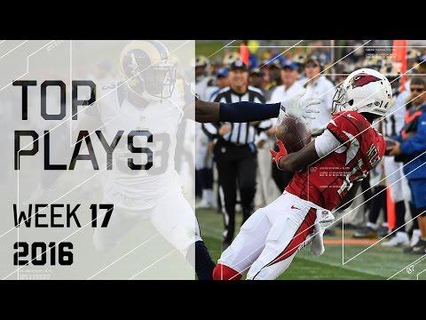 Top Plays   NFL Week 17 Highlights