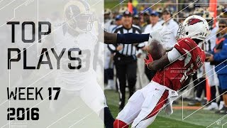 Top Plays | NFL Week 17 Highlights
