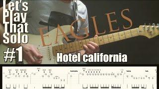 LSPTS#1: Hotel california (The eagles) - guitar solo cover