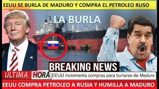 EEUU se burla de Maduro compra petroleo a Rusia