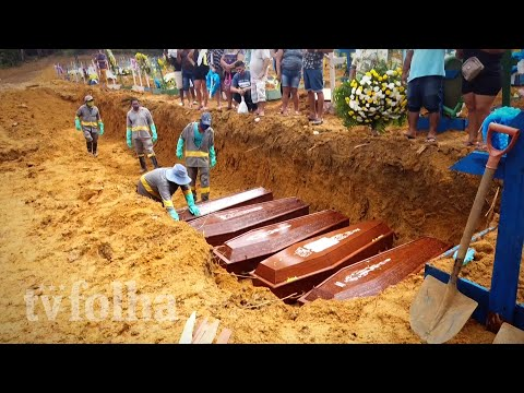 Sem Espaço Para Enterrar As Vítimas Da Covid-19, Manaus Empilha Caixões