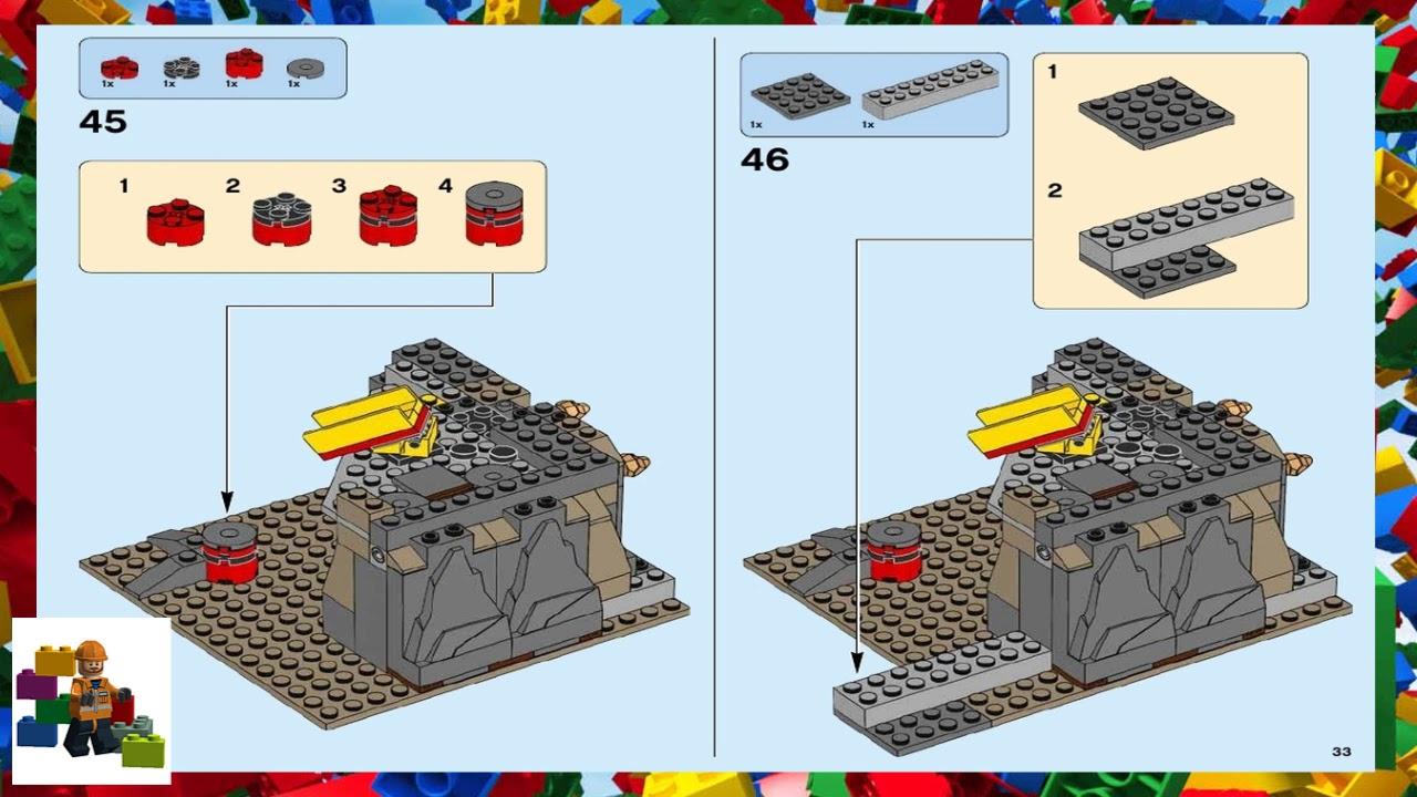 Lego Instructions City Mining 60188 Mining Experts Site