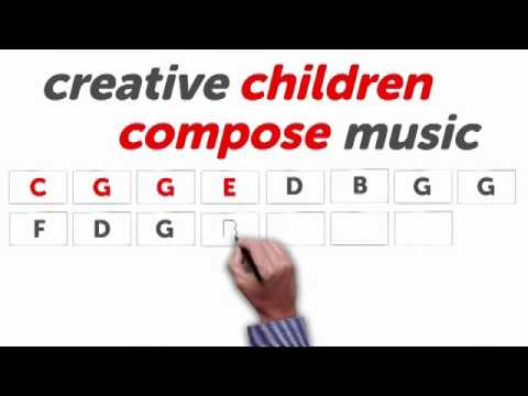 CREATIVE CHILDREN COMPOSE MUSIC