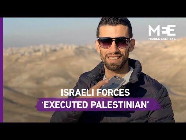 Israeli killing of Palestinian man en route to wedding an 'extrajudicial execution'