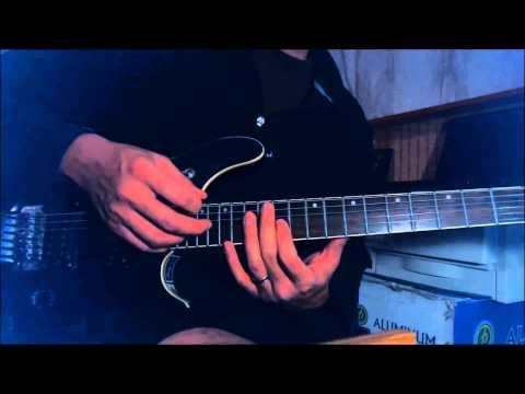Ozzy Osbourne / Jake E. Lee - Killer of Giants - Solo, interlude guitar lesson Part 4