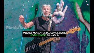 Mejores momentos del concierto de Roger Waters en Madrid
