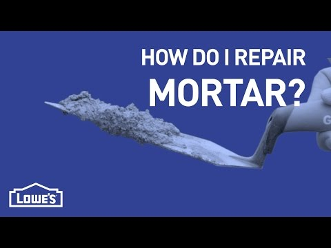 How Do I Repair Mortar? | DIY Basics