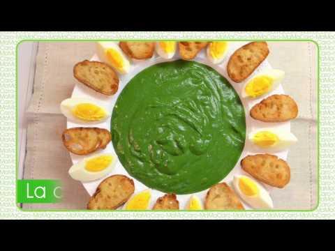 crème-d'épinard-couronne-d'oeuf-mollet-et-toast-frit