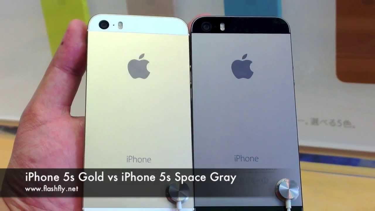 iphone se space grey vs gold