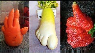 видео Прикольные овощи