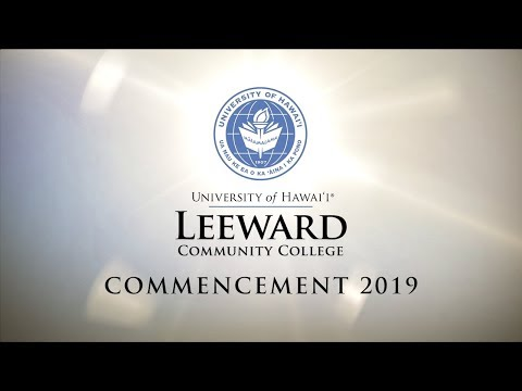 Leeward Community College Commencement 2019