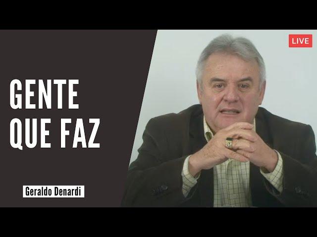 Gente que faz - Ap. Denardi - Live 03/11