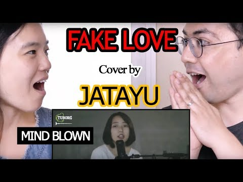 Fake Love (Cover) | BTS (방탄소년단) | Jatayu ll Reaction Videoll