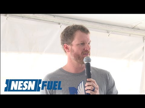 Dale Earnhardt Jr. Holds Q&A For Fans At NHMS