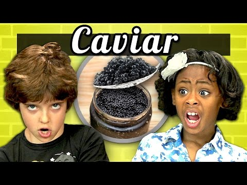 KIDS vs. FOOD #3 - CAVIAR