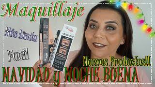 Maquillaje Para Navidad con productos Colombianos