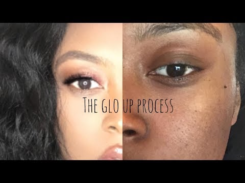 "I ""tried"" following a Jackie Aina Makeup Tutorial 