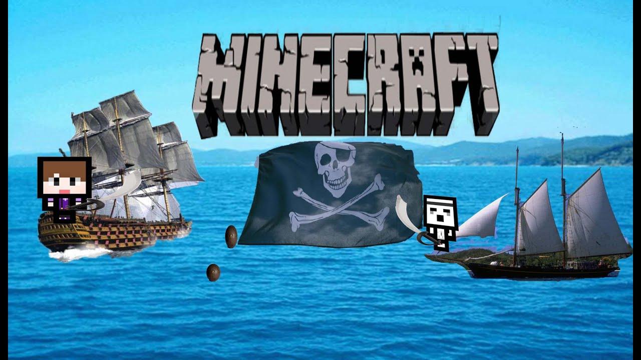 Карта морской бой (Pirate Battle Royale) на Майнкрафт