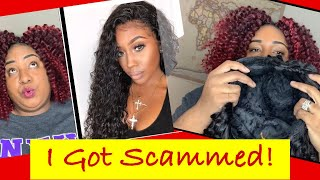 I GOT SCAMMED!! ROMCHIC WIGS Review