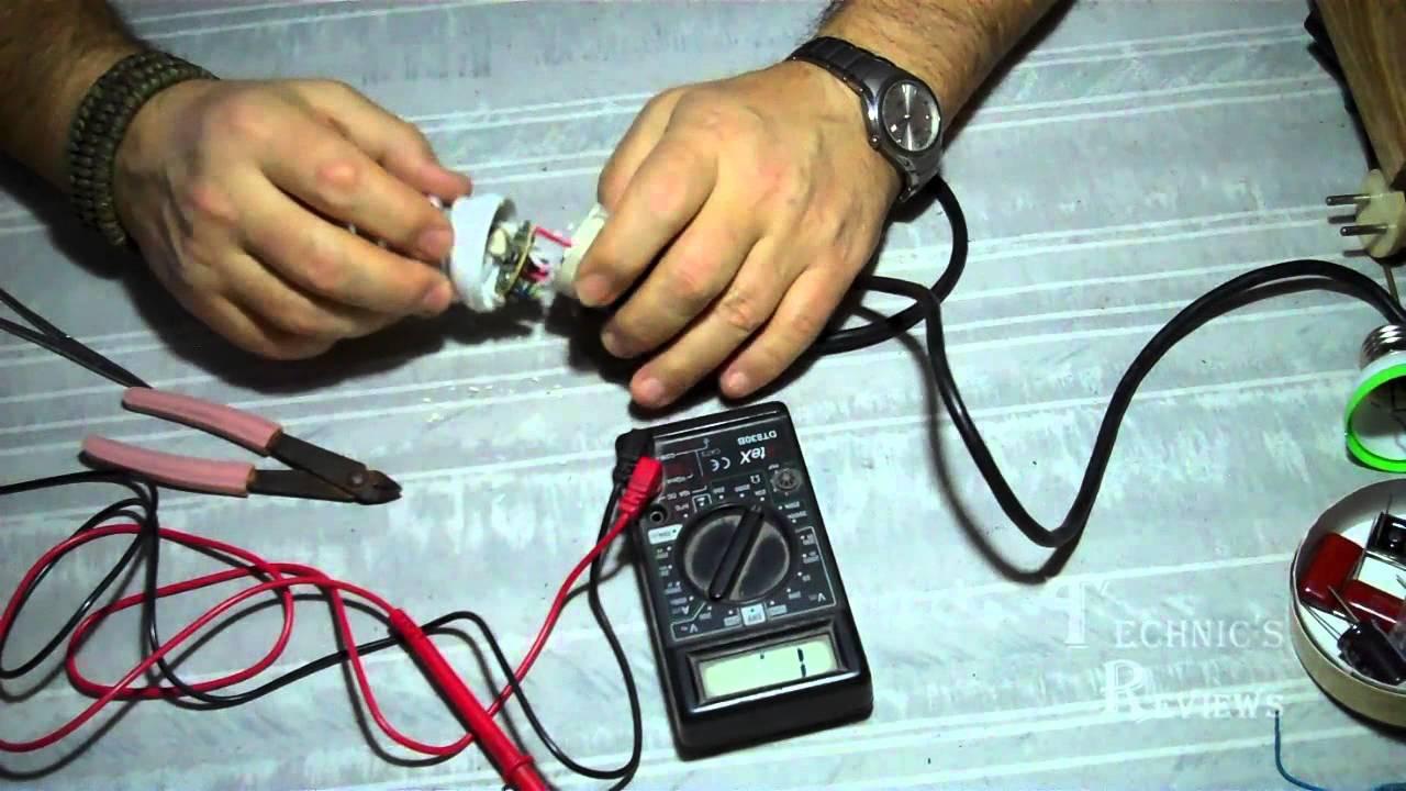 баластник электронный люминисцентных ламп схема