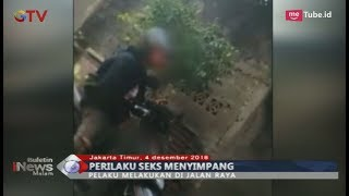 Perilaku Seks Menyimpang, Seorang Pria Keluarkan Alat Vital di Depan Perempuan - BIM 04/12