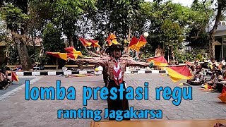 Lomba Prestasi Regu Ranting Jagakarsa Tahun 2018