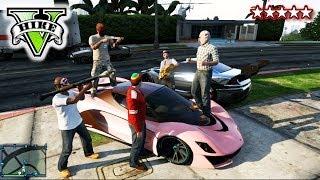 GTA PIGGY HUNT!! - Kill The Piggy!! GTA - Landed IT Crew Original Game Mode Grand Theft Auto 5