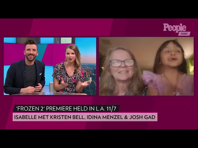 People Interview of Wish Kid who attended Frozen 2 Premiere