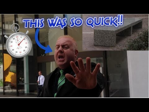 WORLDS FASTEST SECURITY KICKOUT!?!