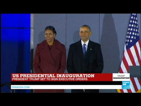 US - Watch Barack Obama's first speech as United States former president
