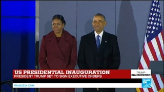 US   Watch Barack Obama's first speech as United States former president