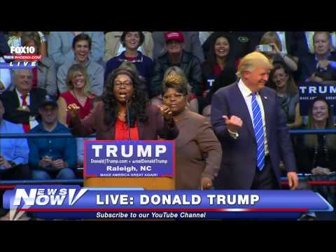 "FNN: Donald Trump Meets The Notorious Diamond And Silk - Self Described ""Black Trump Supporters"""