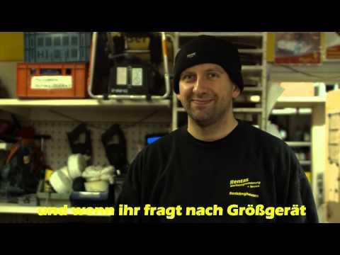 Video Großgeräte - Rentas Werkzeugvermietung