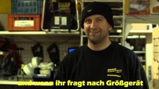 Großgeräte - Rentas Werkzeugvermietung