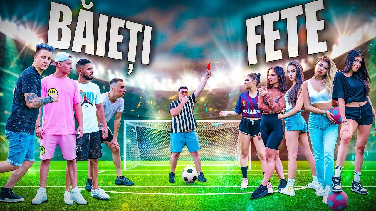 Download BĂIEȚI VS FETE 👊🏻 FOTBAL CHALLENGE