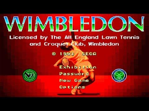 Wimbledon Championship Tennis (Sega Mega Drive/Genesis).
