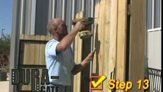 Instructions Dura-gate - Fence Gates Durable For Life