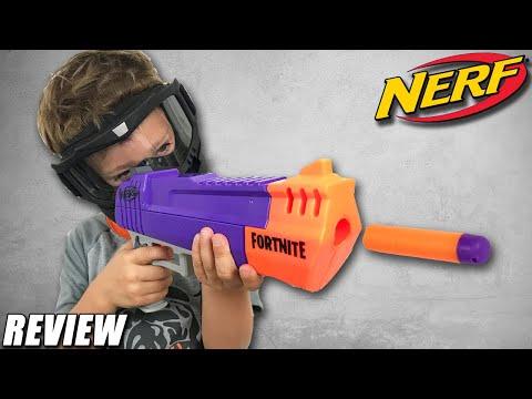 Nerf Fortnite HC-E Blaster - 2019 Pistol Review