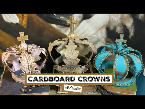 HOW TO: Cardboard Crowns